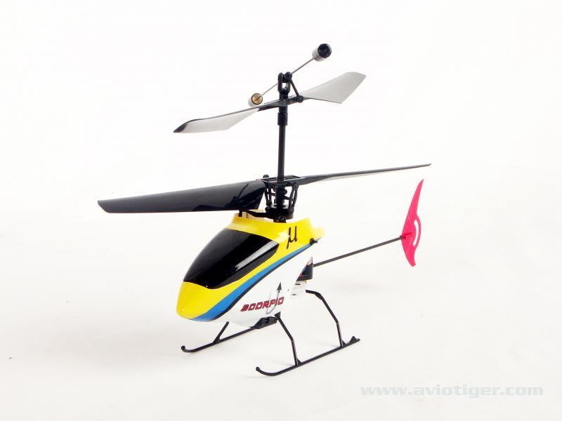 Hélicoptère birotor radiocommandé 1001maquette
